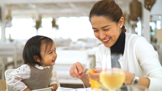 How Marian Rivera taught Baby Zia to eat veggies