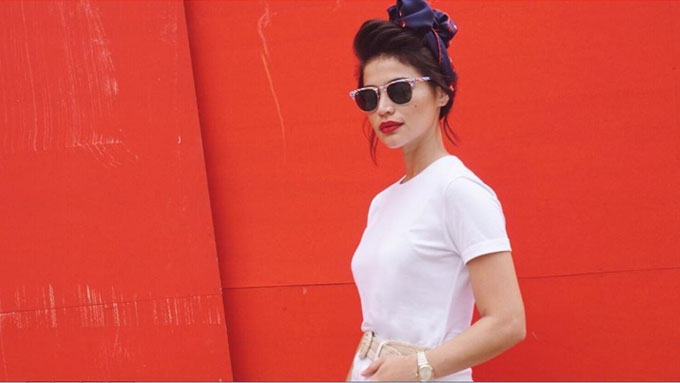 Anne Curtis shows many ways to look bongga in white shirt