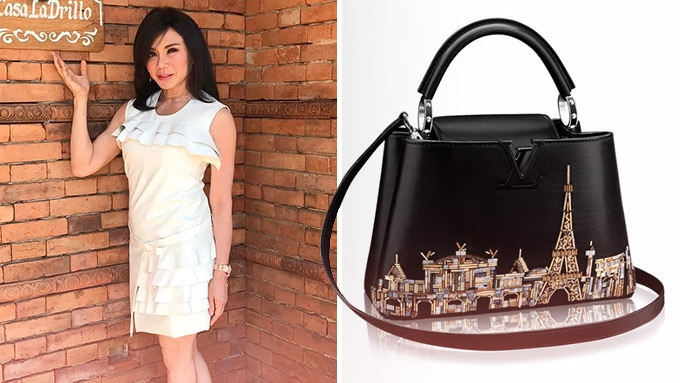 Dra. Vicki Belo gives herself an early wedding gift: LV bag