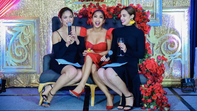 Max and Andrea host sosyal bridal shower for Rochelle