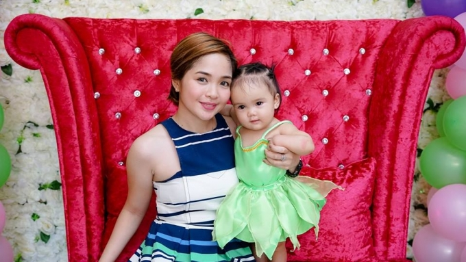 Jovit Baldivino's baby with Shara Chavez turns one