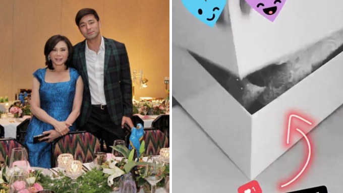 Vicki Belo gives sneak peek of Michael Cinco wedding gown