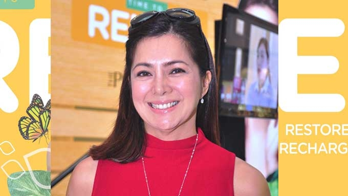 To avoid wrinkles, Alice Dixson avoids stress!