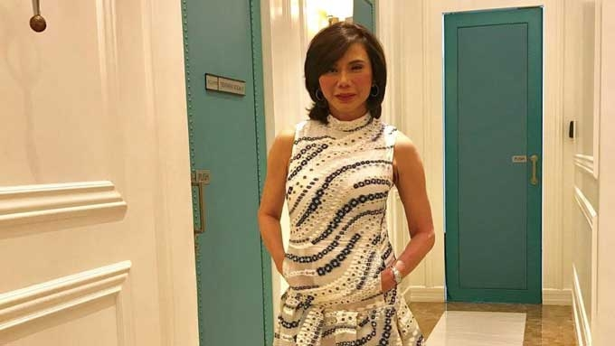 The beautiful engagement ring of Dra. Vicki Belo