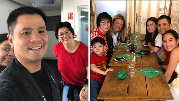Ogie Alcasid celebrates 50th birthday with family in France