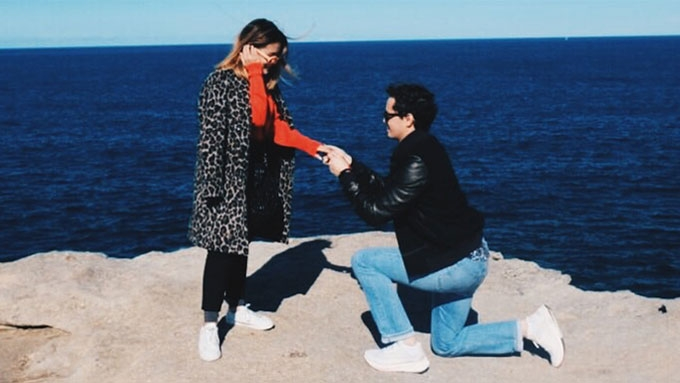 Chi Gibbs, daughter of Janno and Bing, is engaged!