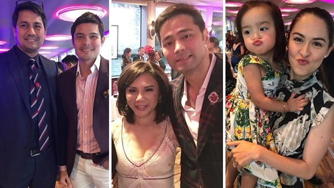 vicki belo hayden kho jr welcome wedding guests with