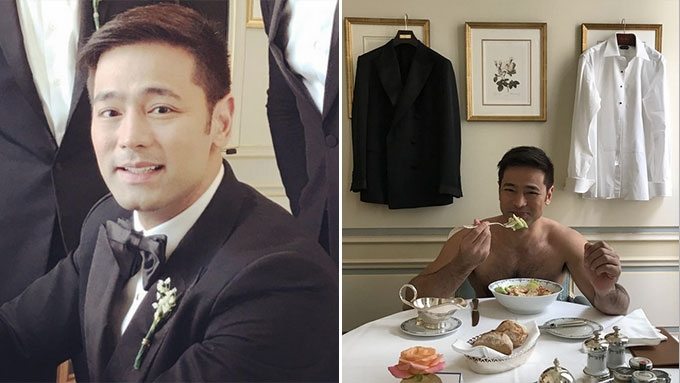 What Hayden Kho Jr. did a few hours before his wedding