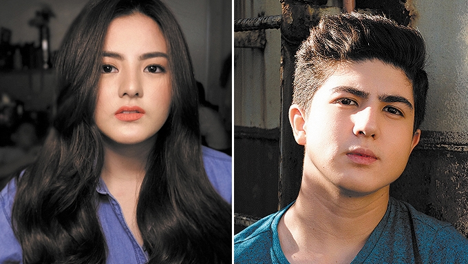 Carmina's twins all grown-up and good-looking in photos