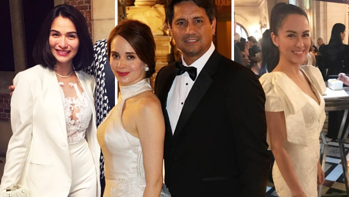 Stylish stars spotted at Vicki Belo-Hayden Kho Jr. wedding