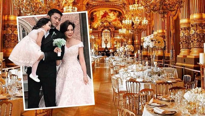 Did the Vicki-Hayden wedding in Paris cost P80 million?