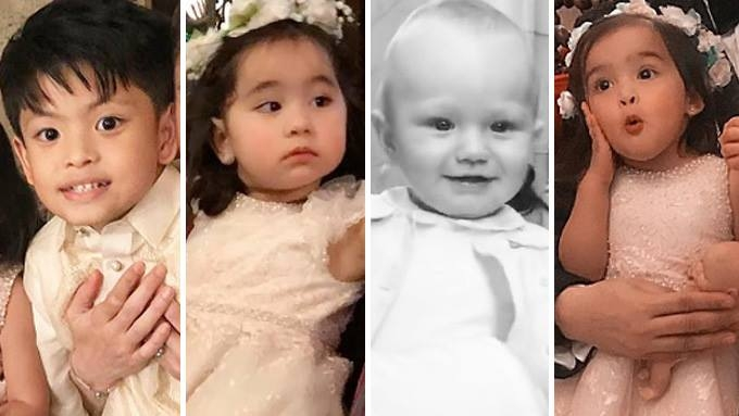 These celebrity kids steal the show at Belo-Kho wedding