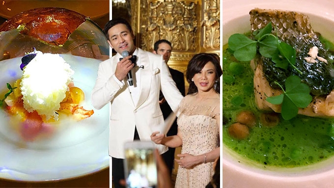 It was food for the gods at the Belo-Kho nuptials
