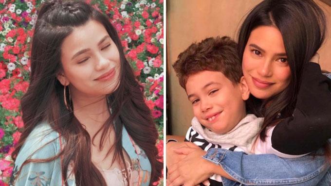 What Denise Laurel teaches son Alejandro about grades
