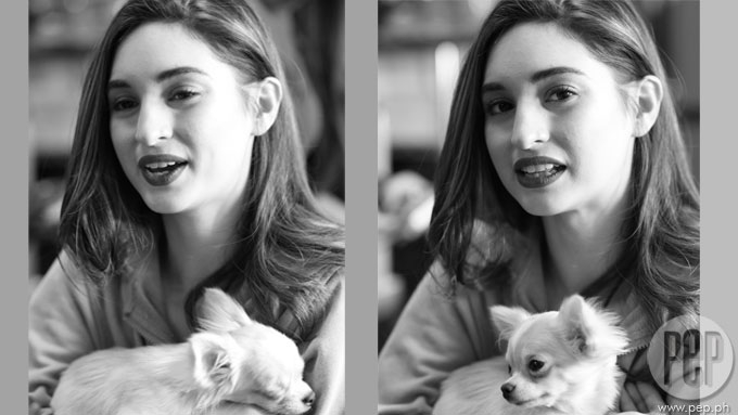 A 16yo dog will give away Coleen Garcia on her wedding day