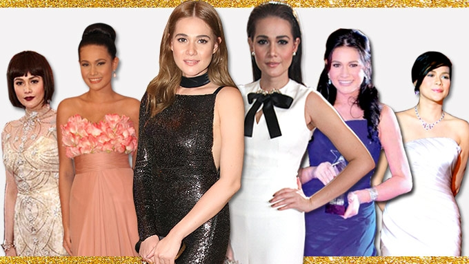 Bea Alonzo's red-carpet style evolution at Star Magic Ball