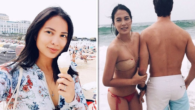 A quick throwback to Isabelle Daza's bikini shots in France