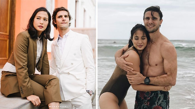The jet-setting lifestyle of Isabelle Daza before pregnancy