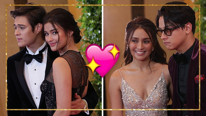 IN PHOTOS: Couples and love teams at Star Magic Ball 2017