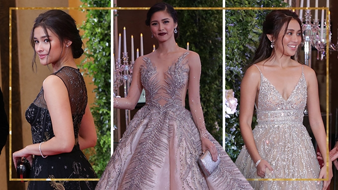 The stunning ladies at the Star Magic Ball 2017