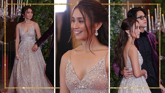 Kathryn sought the help of fans for her Star Magic Ball look