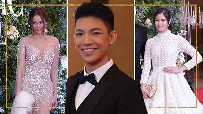 Celebrities who wore Francis Libiran at Star Magic Ball 2017