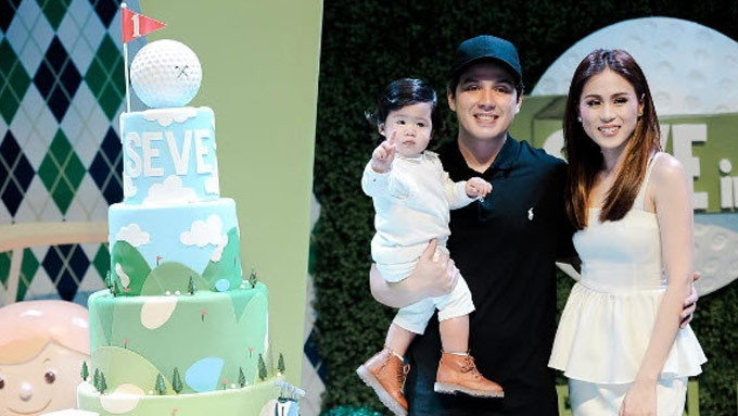 Toni Gonzaga, Paul Soriano mark 1st birthday of son Seve