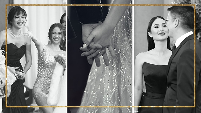 Candid moments caught on the red carpet of Star Magic Ball