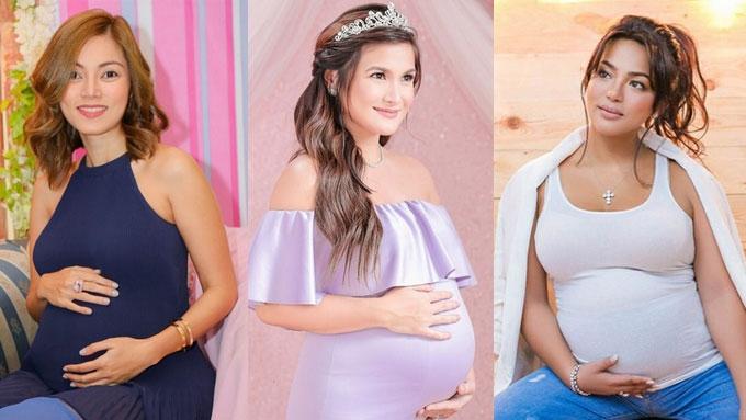 New moms Camille, Erika, Maricar recall tasty cravings