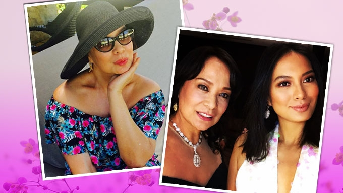 Gloria Diaz excited to become a lola to Isabelle Daza's baby