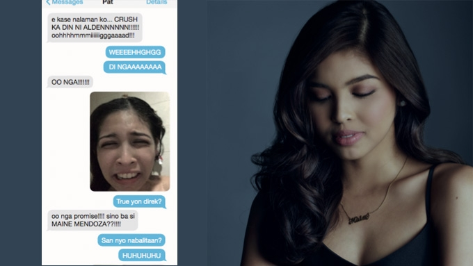Maine Mendoza reveals being told Alden Richards had a crush on her before AlDub fame