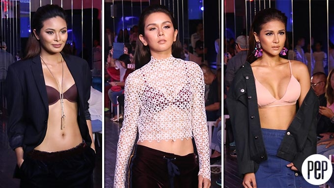 Maxine Medina, Beauty Gonzalez, Sanya Lopez, and more join Bench underwear show
