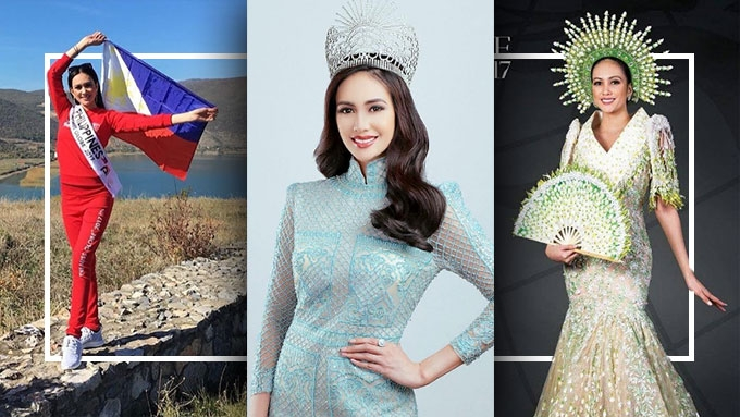 How is Nelda Ibe doing in Miss Globe 2017 pageant?