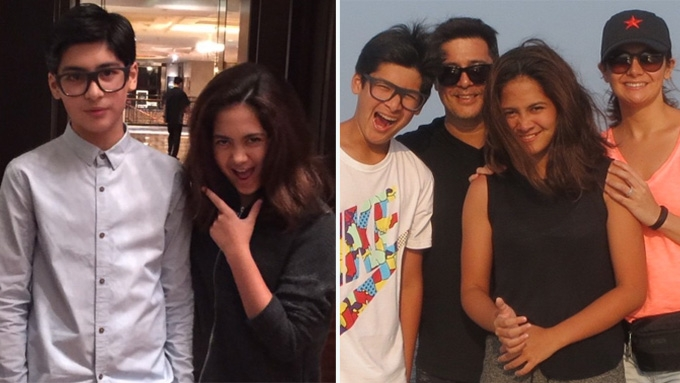 Charlene Gonzalez, Aga Muhlach celebrate twins' 16th b-days