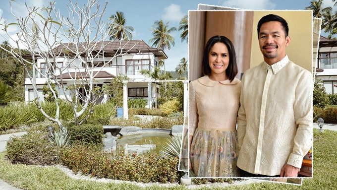 Manny and Jinkee Pacquiao's beach house in Sarangani