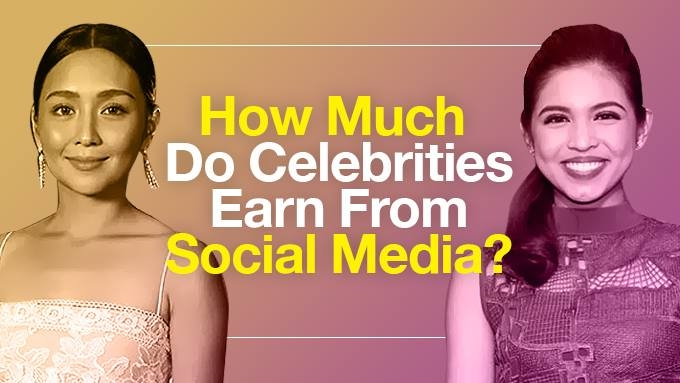 How much do stars earn from social media?