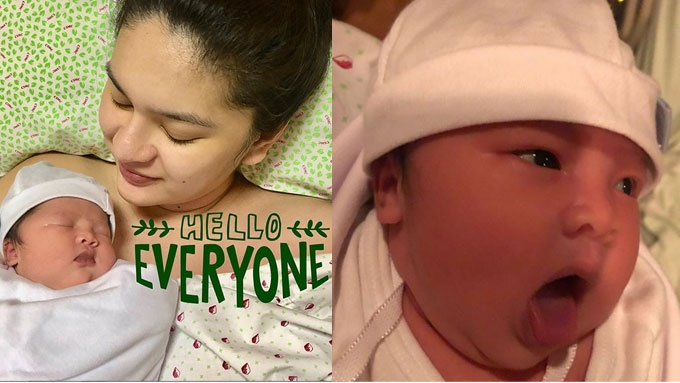 Say hello to Pauleen Luna and Vic Sotto's baby girl Talitha
