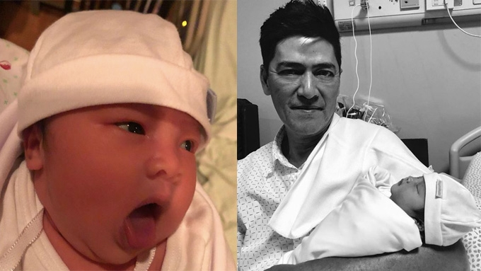 Guess who visited the baby of Vic Sotto and Pauleen Luna