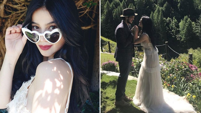 Anne Curtis steps out in her first bridal look