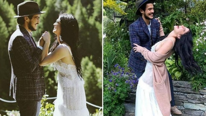 Anne-Erwan pre-wedding shoot exudes old world charm