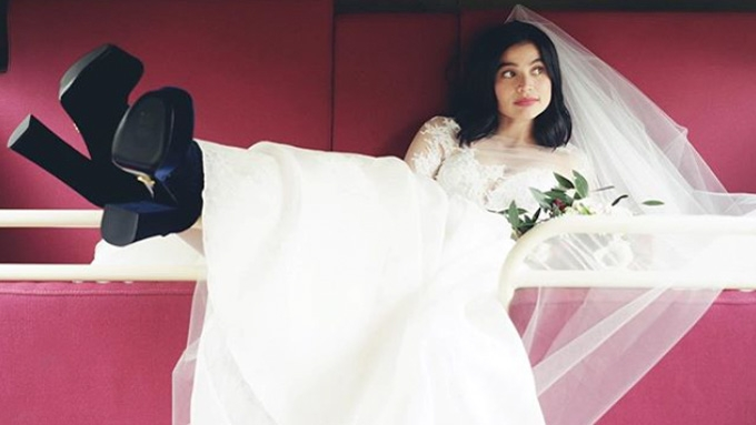 Anne Curtis is a real-life goddess in her wedding dress