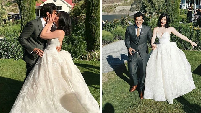 Here are the scenes from Anne Curtis and Erwan Heussaff\'s wedding ...