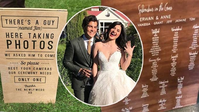 10 details you shouldn't miss at Anne-Erwan wedding