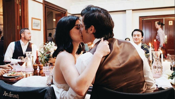 All the fun captured during Anne and Erwan's wedding party