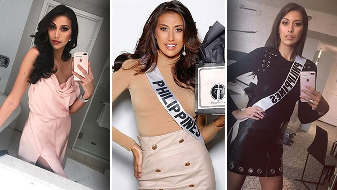Rachel Peters and her stylish moments at Miss Universe 2017
