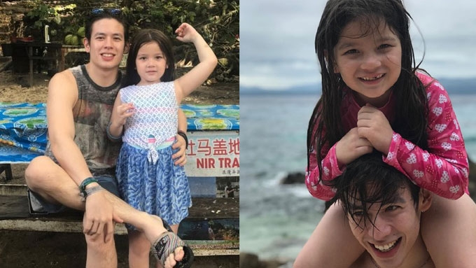 LOOK: Jake Ejercito and daughter Ellie on a beach getaway