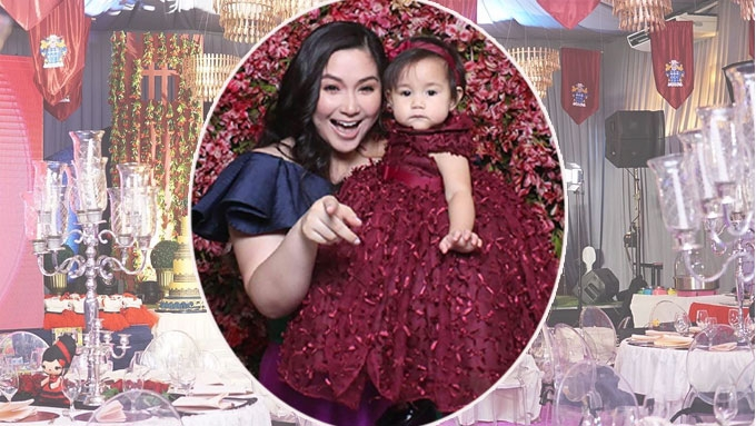 Robin and Mariel Padilla celebrate baby's first birthday