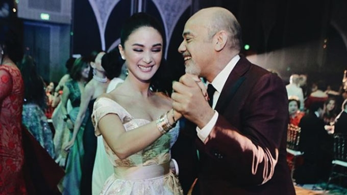 Heart Evangelista dances with Christian Louboutin