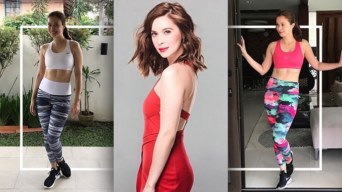 How Sunshine Cruz maintains 25-inch waistline