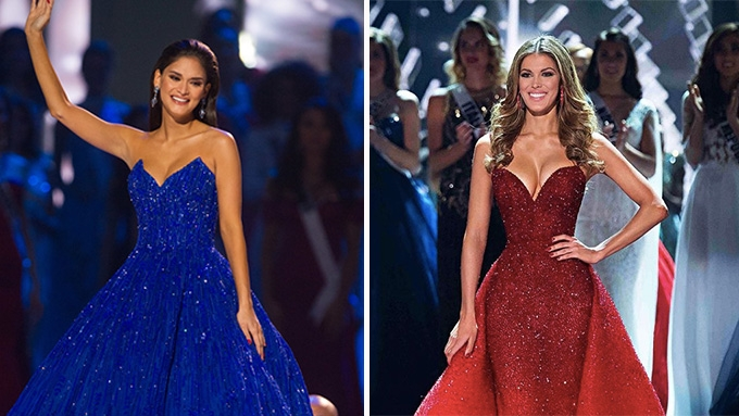Who wore Michael Cinco's Gown Better: Miss Universe 2015 Pia